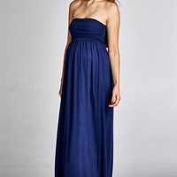 Strapless Beauty Maxi