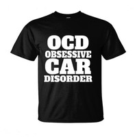 OCD OBSESSIVE CAR DISORDER - Ultra-Cotton T-Shirt