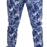 Jordan Craig Men's Bird Floral Jogger Jogging Sweatpants Pants