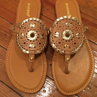 Abigail Sandals - Tan