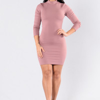 Kentucky Dress - Mauve
