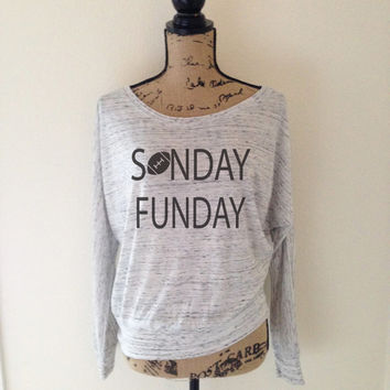 Sunday Funday Football Tank Top for Women - Football Tee - Sports Football Game Day Tanks - Fun Day College Professional Sports Team - Top