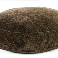 Bowsers Super Soft Round Dog Bed, Chocolate Bones, Medium 36""