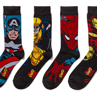 Marvel Superhero Crew Socks 2-pack