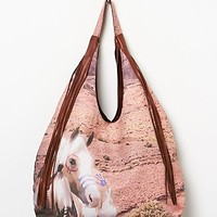 Totem Womens Desert Pony Hobo - Whiskey One