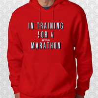 In Training for a Netflix Movie Marathon Hoodie