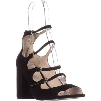 Cole Haan Cielo High-Heel Sandals, Black Suede, 9.5 US