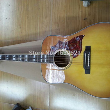 New  Factory  Chibson hummingbird acoustic guitar