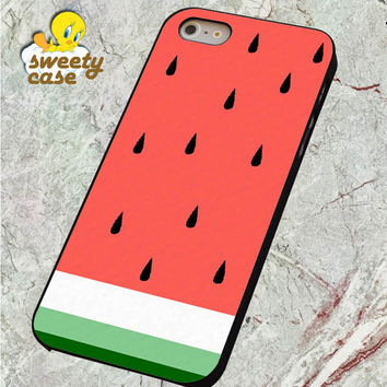 Watermelon Fruit Cute Pink and Green Funny For SMARTPHONE CASE