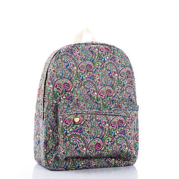 Hot Sale Canvas Vintage Peacock Backpack = 4887982020