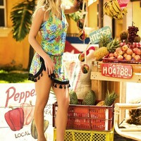Frutera del Mar Tropical Beach Cover Up
