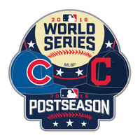 Chicago Cubs vs. Cleveland Indians 2016 World Series Bound Dueling Pin