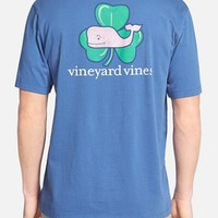 Men's Vineyard Vines 'Whale Shamrock' Graphic T-Shirt