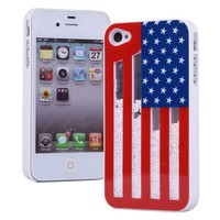 Fashion Sliding the Stars and the Stripes Hard Cover Case For Iphone 5