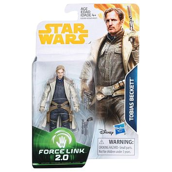 Tobias Beckett Force Link 2.0 Solo A Star Wars Story 3.75 Inch Figure