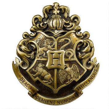 Hogwarts School Crest Wall Art by Noble Collection | WBshop.com | Warner Bros.