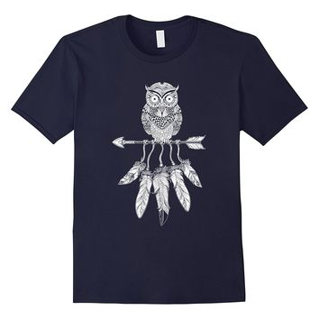 Native American Owl T Shirt Native American 2017 T-Shirt