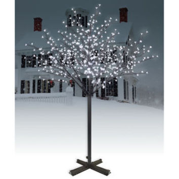 Philips 7' Lighted Holiday Blossom Tree