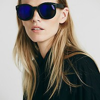 Free People Womens Abbey Road Flash Sunglass
