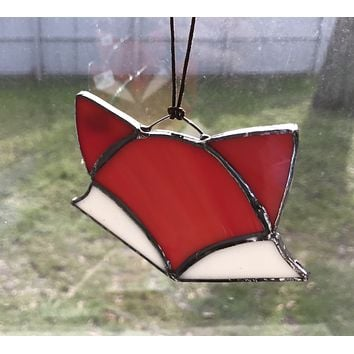 Stained Glass Fox Head