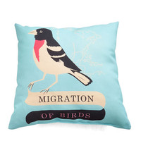 Bird Migrate-est Comfort Pillow by ModCloth