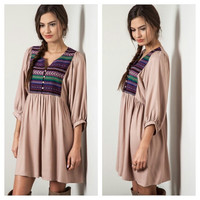 ***New*** Purple/Taupe Dress
