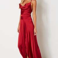 Camilla Maxi Dress Wine