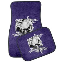 Skull Cameo 1 Car Floor Mat