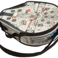 Neat-Oh Neat-Oh!® LEGO® Star Wars ZipBin® Large Millennium Falcon Messenger Bag