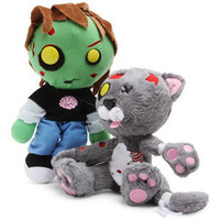 ThinkGeek :: Plush Zombies