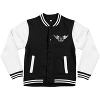 Black Veil Brides Men's  Gate Varsity Jacket Black