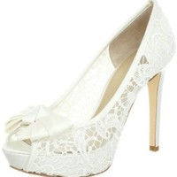 Joan and David Women's Cutie Peep-Toe Pump