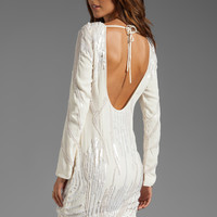 bless'ed are the meek Textures Dress in Ivory from REVOLVEclothing.com