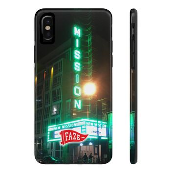 **Online Exclusive** New Mission Tough iPhone X Phone Case