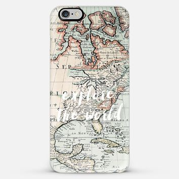 explore the world iPhone 6 Plus case by Sylvia Cook | Casetify