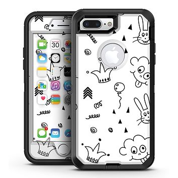 Joker, Clouds, and Balloon Doodle - iPhone 7 Plus/8 Plus OtterBox Case & Skin Kits