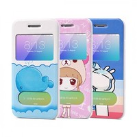 Cute Smart Flip Case - iPhone 6