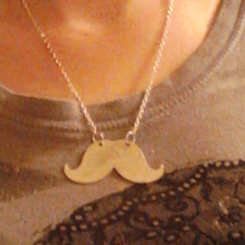 Mustache necklace from Wild Ivy