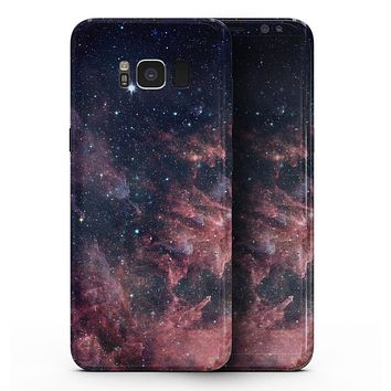Colorful Deep Space Nebula - Samsung Galaxy S8 Full-Body Skin Kit