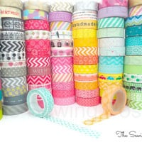 Washi Tapes: 159 Patterns