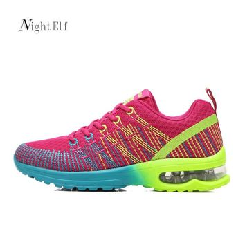 Night Elf sport shoes for women running shoes women sneakers high quality 2017 summer air mesh gym jogging tennis trainners new