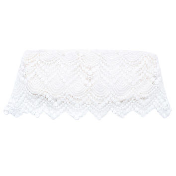Amuse Society Sadie Crochet Top in Casablanca