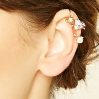 Faux Gem Ear Cuff Set