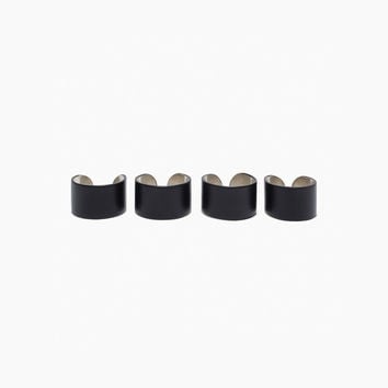 Quadruple Cuff Rings by Maison Martin Margiela Line 11