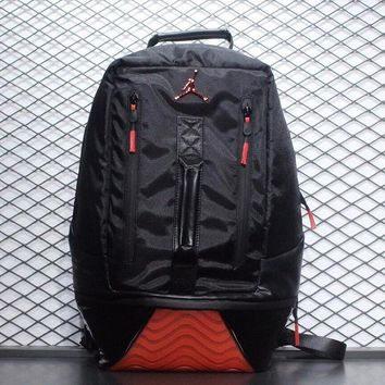 Air Jordan Black Red Backpack - Best Deal Online