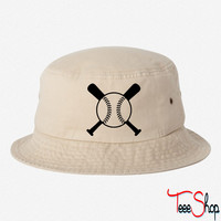 baseball 1 bucket hat