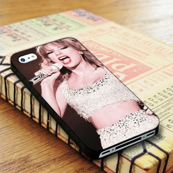 Taylor Swift Singer Show iPhone 4 | iPhone 4S Case