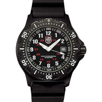 Luminox Men's Black Ops Aviator Watch - Date - Rubber Strap - Retired