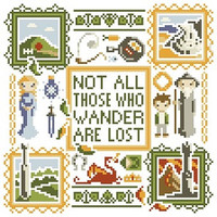 PDF - Middle-Earth Square Cross Stitch Pattern