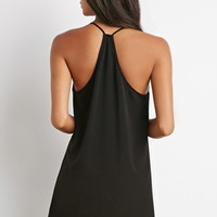 Cutout Front Cami Dress
